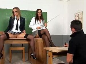 Private Lectures - A Teacher Helps Her Students Understand Porn