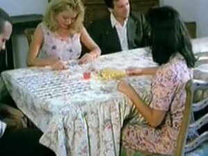 Hairy Pussy Fingering Under The Table In This Vintage Porno Video Porn