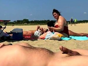 Beach Flasher Enjoys His Summer Day Porn