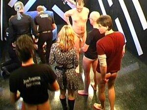 Hardcore Blonde In A Sweet German Bukkake Porn