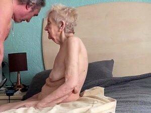 Sexy Grateful Old Granny Porn