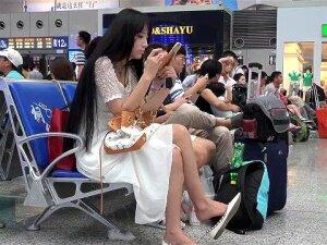 Cute Chinese Girl Shoeplay Porn