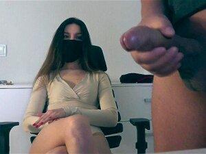 Girl Watches Guy Jerk Off Porn