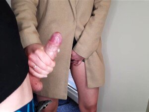 Public Masturbation. Stranger Girl Caught Me Jerking Off And Flashing My Dick And Helped Me Cum. Porn