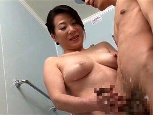 Exotic Japanese Chick In Fabulous Handjob, HD JAV Movie Porn