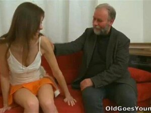 Old Goes Young - When You Leave Your Girlfriend With An Old Guy Porn