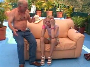Sweet Blonde Lain Oi Offers Her Cunt To A Nasty Mature Lover Porn