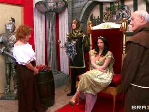 Medieval Queen Missy Martinez Is The Fucking Boss. She Gets Whatever Cock She Wants, And Demands Constant Satisfaction. When A Peasant Couple Comes In Asking The Queen To Bless Their Marriage, She Catches One Glimpse Of James Deen And Decides He's Just The Man To Plow Her Royal Ass. Porn