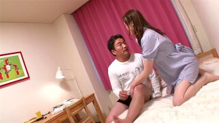 Sexy exotic Japanese milf whore Miyama Ranko in horny JAV uncensored video