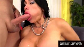 """""""Big Tits Older Slut Sheila Marie Takes a Long Cock Deep in Her Pussy"""""""