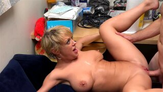 MILF Trip - Horny blonde MILF Dee Williams takes load to the face - Part 1