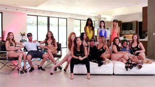Craziest orgy of all time! Fucking for money PHG-V6