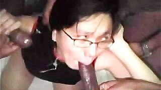 Gangbang Asian Wife 1