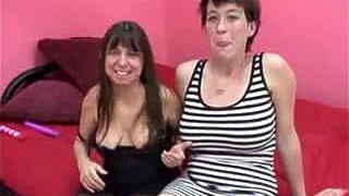 Mature Midget Vixen and Charlie 3 x 3
