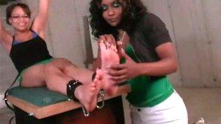 Michelle gets tickle revenge