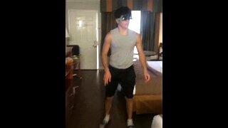 Ari Jakobov has intense orgy in hotel
