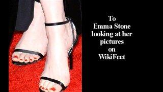 Emma Stone : Masturbation Song Parody by Cummy Dee
