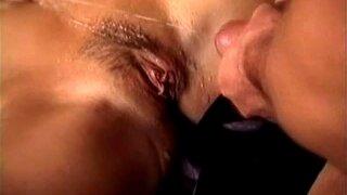Sabine Mallory in hot threesome