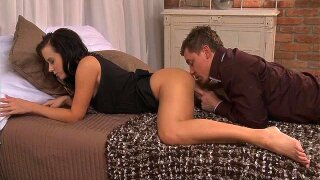 """""""MOM Busty Brunette MILF takes his length"""""""