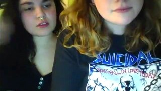 Omegle two friends showing tits and ass