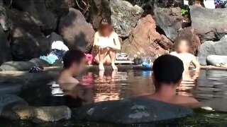 Nao exhibitionist coed bath