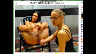 Panty stuffing and hard spanking