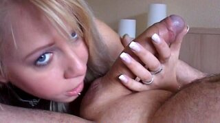 """""""Young """"""""Carla Cox"""""""" sucking an old cock"""""""